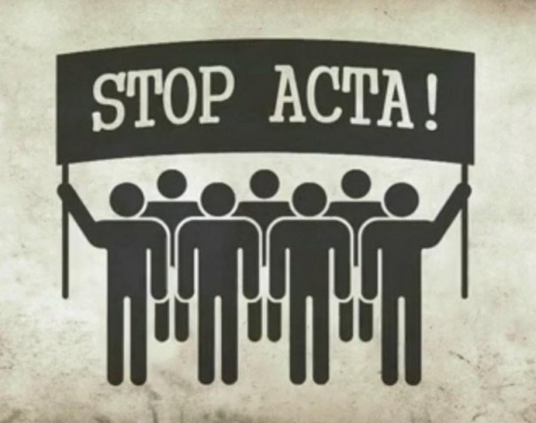 SOPA, PIPA… ACTA!