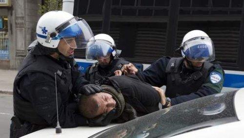 Канада:  още  90  протестиращи  арестувани  в  Монреал