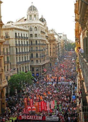 Испания: Протести и репресии