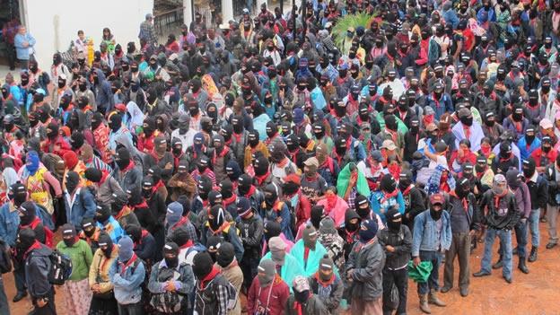 """Чиапас: 40 хиляден протест в памет на жертвите от """"клането в Актил"""""""