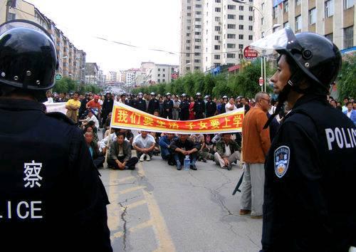 tonghua-standoff