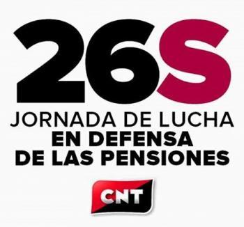 Испания: 26 септември – мобилизация на CNT срещу пенсионната реформа