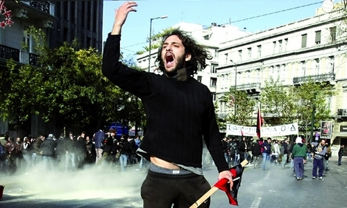 Greek-protests