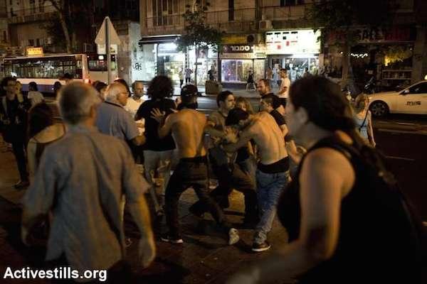 protest-scuffle