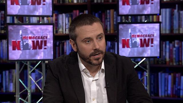 """Вестителите – Джереми Скахил и истината за """"Блекуотър"""" пред Democracy Now!"""