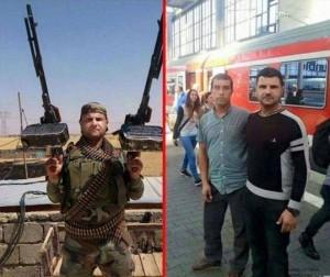 Вляво – терорист, вдясно – бежанец.
