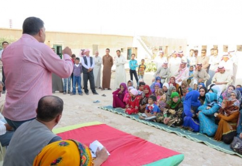 Рожава: първа Комуна в арабско село в окръг Кобане