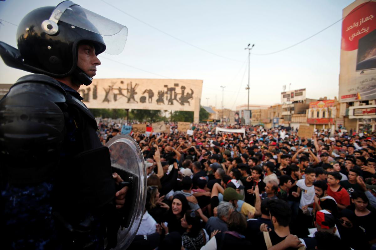 Протестите в Басра, Южен Ирак, продължават