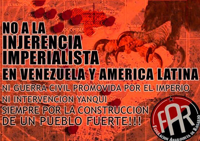 Не на империалистическата намеса във Венецуела и Латинска Америка