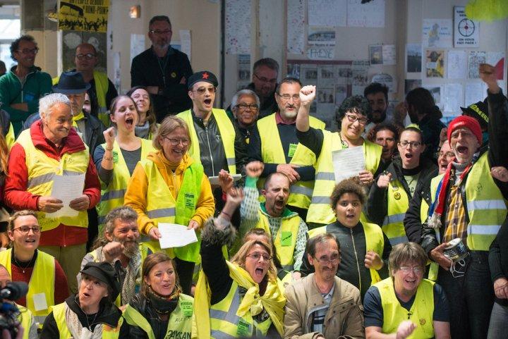 Общ призив от Сен-Назер от Събранието на събранията на Жълтите жилетки