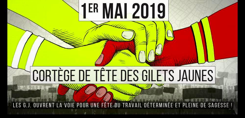 Призив на Жълтите жилетки към мобилизация за манифестациите на първи май!