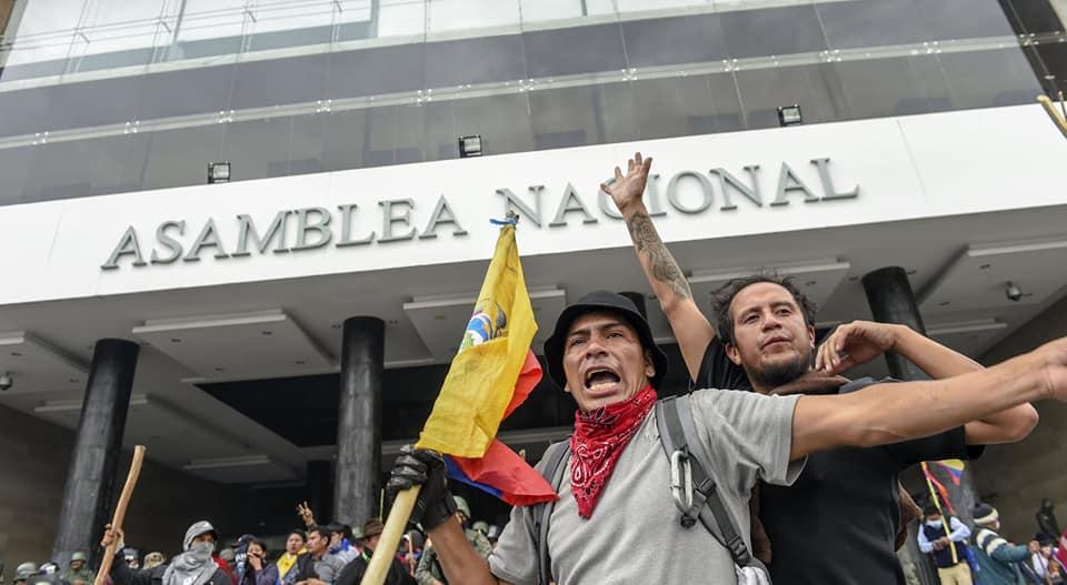 Сведения за хода на въстанието от участник в превземането на еквадорския парламент