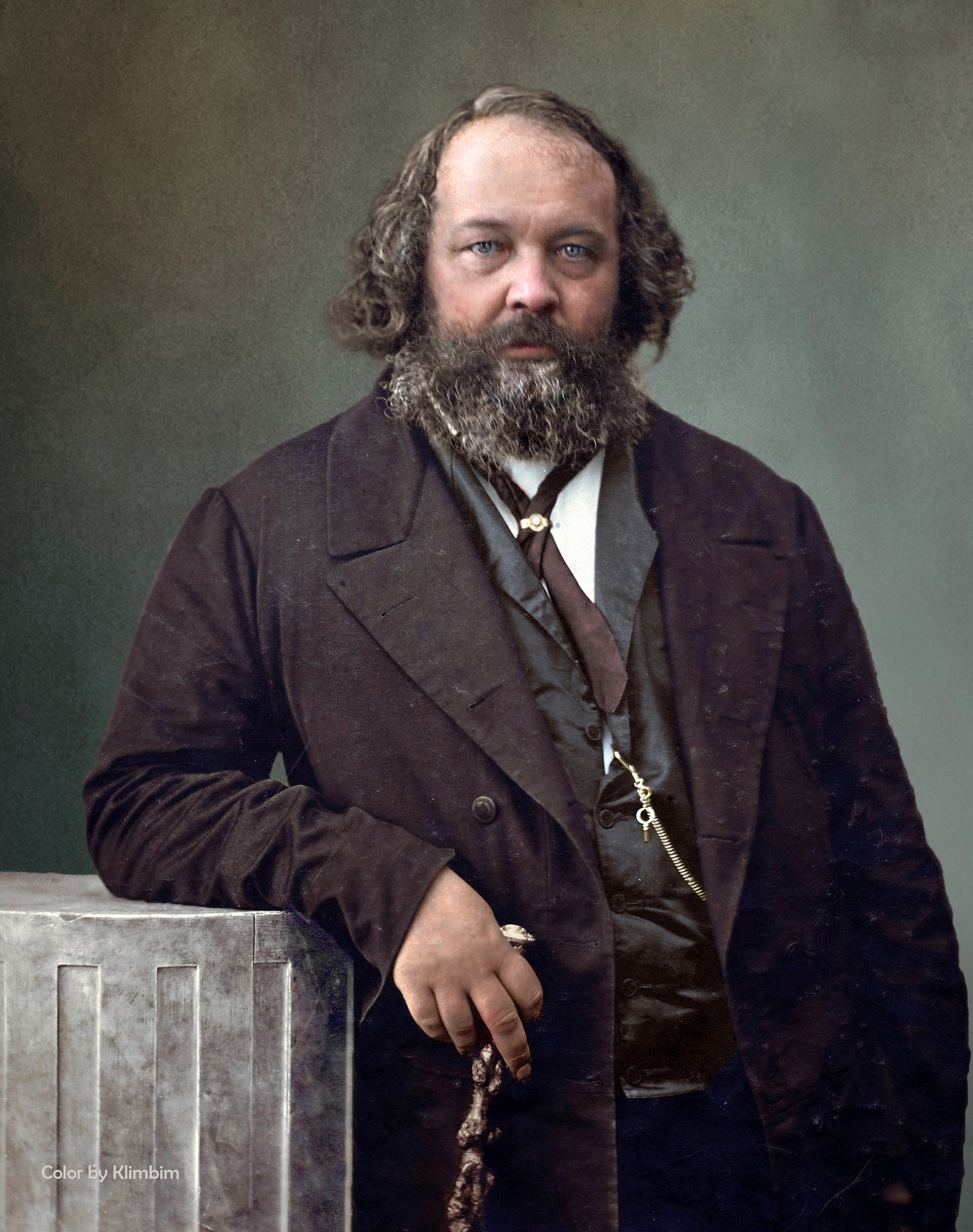 Погребението на М. А. Бакунин (от Пьотър Лаврович Лавров)