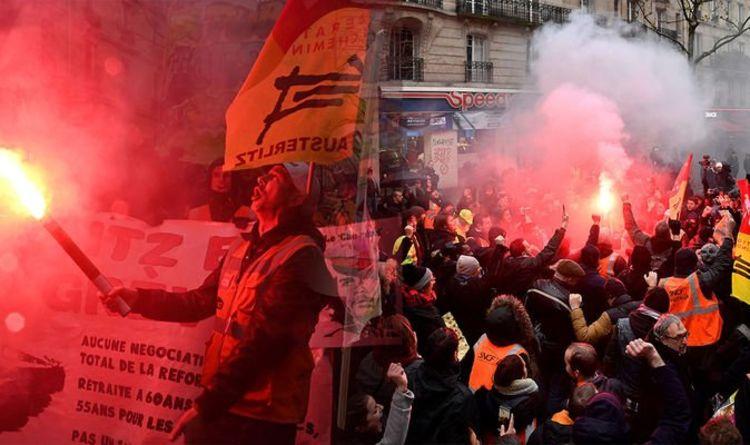 Няма училища, няма влакове, няма Айфелова кула – Франция е в стачка!