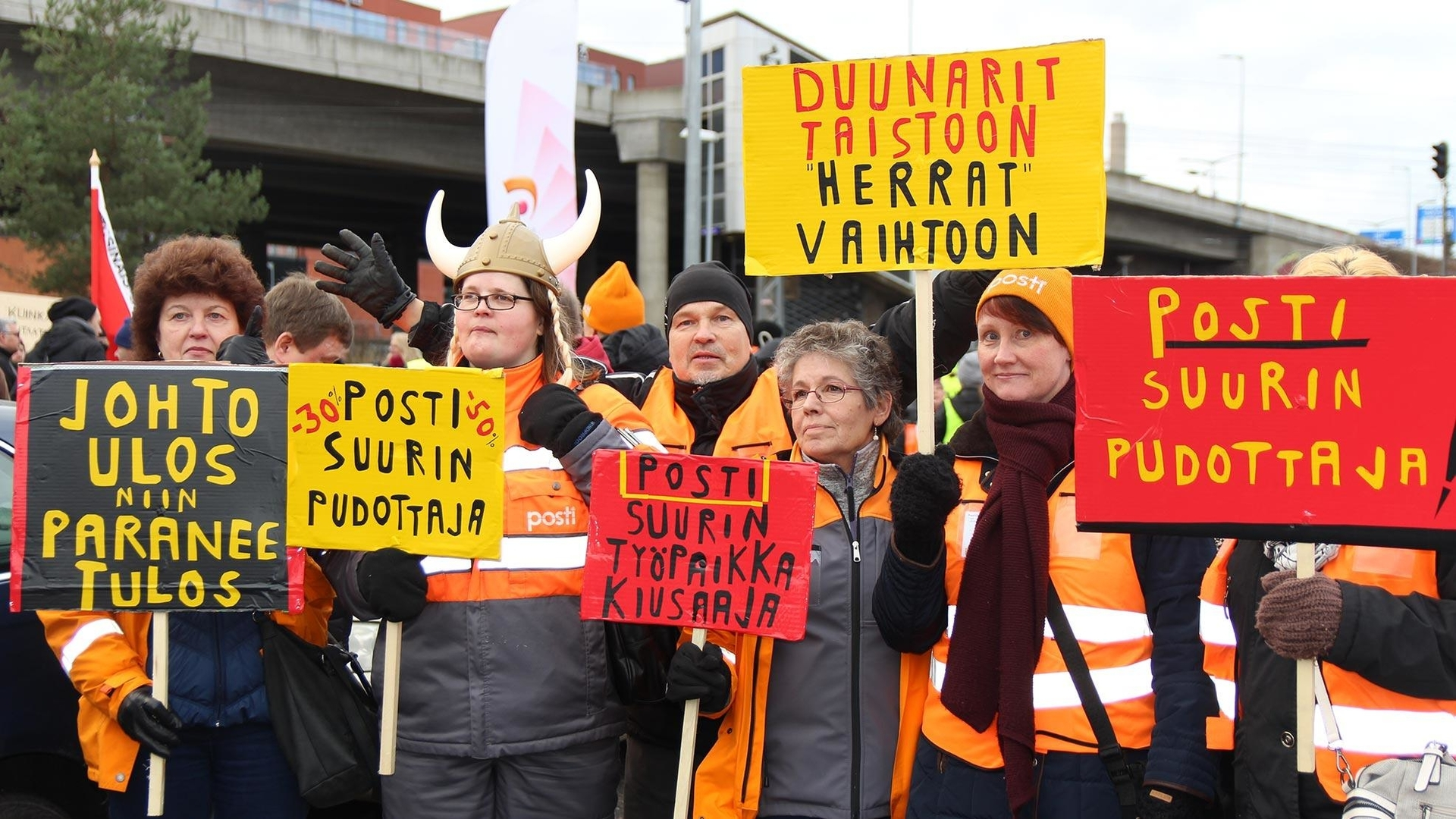 Финландия също се тресе от работнически стачки