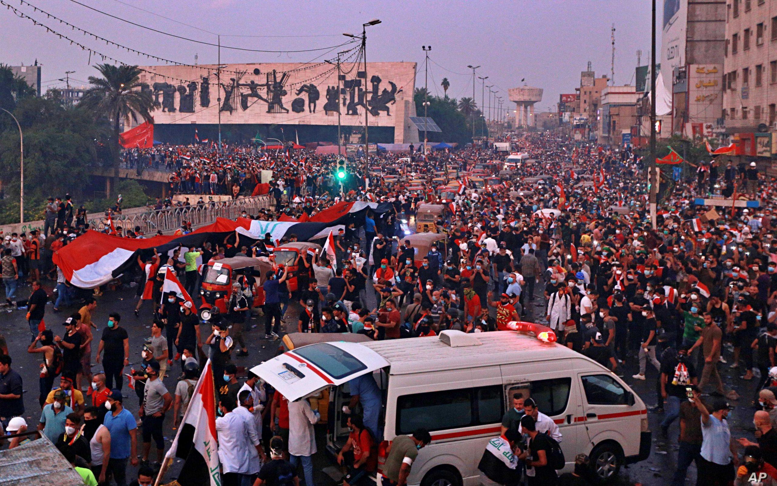 Протестиращите от площад Тахрир излязоха с декларация по повод събитията в Ирак