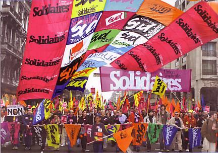 Официална декларация на френските синдикати по повод пенсионната реформа и съпротивата срещу нея